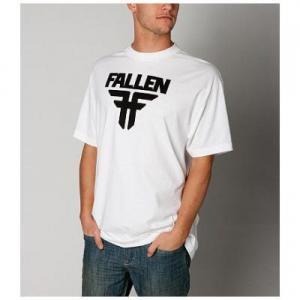 【フォールン FALLEN スケボー Tシャツ】Insignia Logo Tee【ホワイト】NO05
