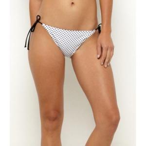 【ロキシー ROXY 水着】Stoked String Bikini Bottoms【ホワイト】NO26