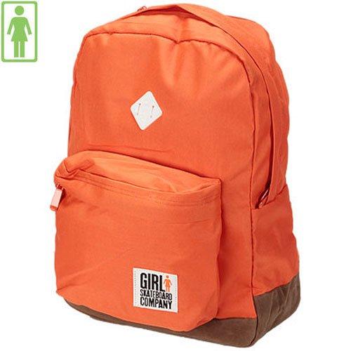 【ガール GIRL SKATEBOARDS バックパック】Simple Backpack【オレンジ】NO6