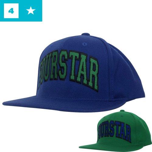 【フォースター FOUR STAR スケボー キャップ】ARCHED SNAP BACK HAT 刺繍【3カラー】NO26