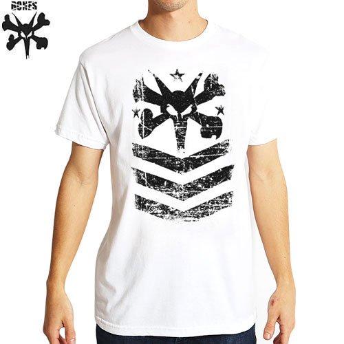 【ボーンズ BONES スケボー Tシャツ】PRIDE TEE【ホワイト】NO16