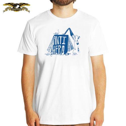 【アンチヒーロー ANTIHERO スケボー Tシャツ】BEER RATS PREMIUM TEE【ホワイト】NO29