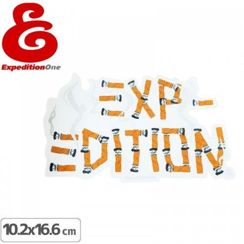 【エクスペディション ワン EXPEDITION ONE ステッカー】CIG LOGO【10.2cm×16.6cm】NO2