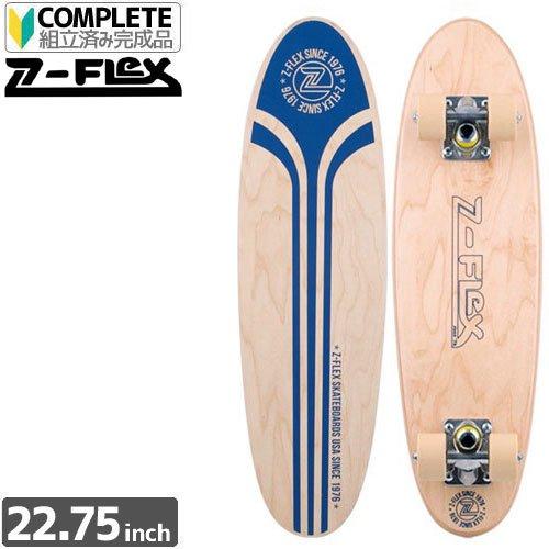 【ジーフレックス Z-FLEX コンプリート】MR CHIPPER BLUE LOGO[22インチ]【ウッド x ブルー】NO05