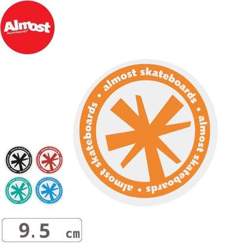 【ALMOST オルモスト ステッカー】Asterisk【5色】【9.5cm x 9.5cm】No45