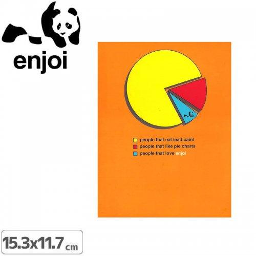 【ENJOI エンジョイ ステッカー】AD PIE GRAPH【15.3cm×11.7cm】NO57