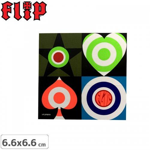 【FLIP フリップ ステッカー】SQUARE【6.6cm×6.6cm】NO6