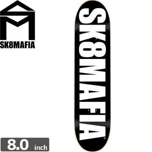 【スケートマフィア SK8MAFIA スケボー デッキ】SKATEMAFIA OG LOGO DECK[8.0インチ]NO48
