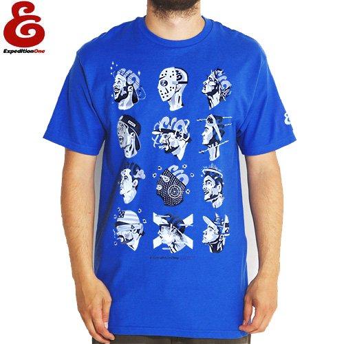 SALE! 【エクスペディション EXPEDITION ONE Tシャツ】MIND STATE TEE【ロイヤル ブルー】NO45