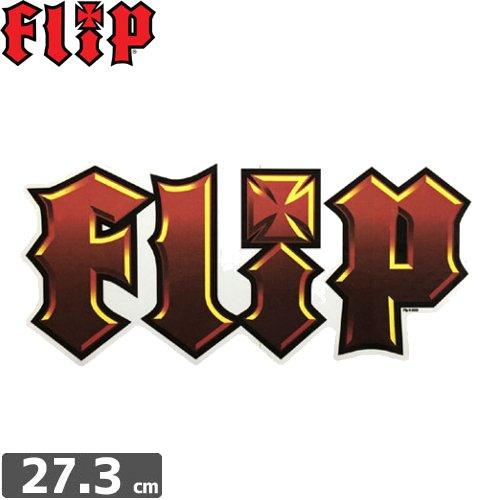 【FLIP フリップ ステッカー】LOGO【12cm × 27.3cm】NO8