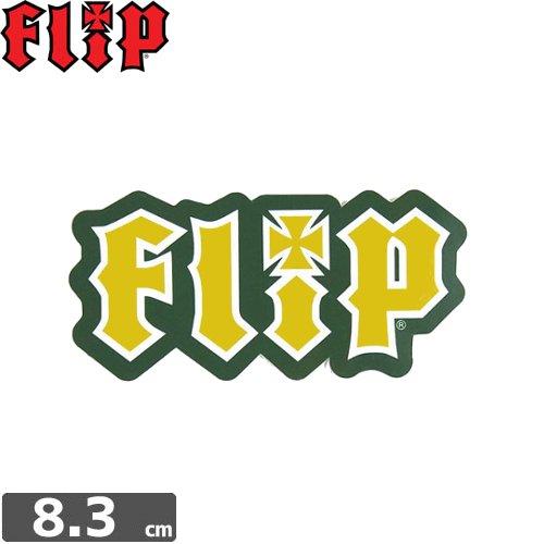 【FLIP フリップ ステッカー】LOGO STICKER【3.9cm x 8.3cm】NO11