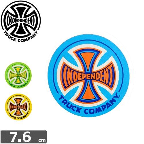 【インディペンデント INDEPENDENT スケボー ステッカー】LOGO【3色】【7.6cm x 7.6cm】NO42