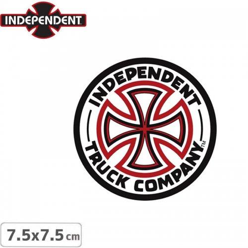 【インディペンデント INDEPENDENT スケボー ステッカー】LOGO STICKER【7.5cm x 7.5cm】NO44