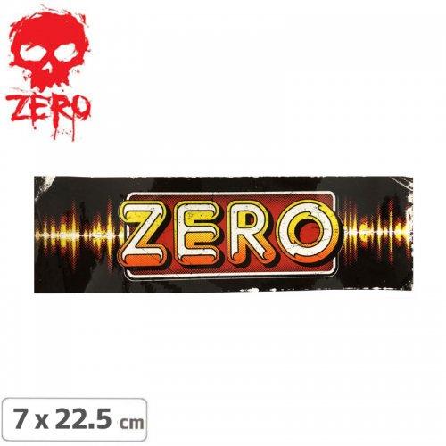 【ゼロ ZERO スケボー ステッカー】RETRO RADIO【7cm × 22.5cm】NO55