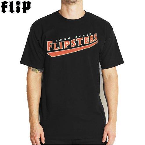 SALE! 【FLIP フリップ スケボー Tシャツ】FLIPSTERS TEE【ブラック】NO26