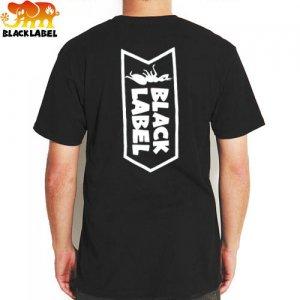 【ブラックレーベル BLACK LABEL スケボー Tシャツ】OG ANT TEE【ブラック】NO42