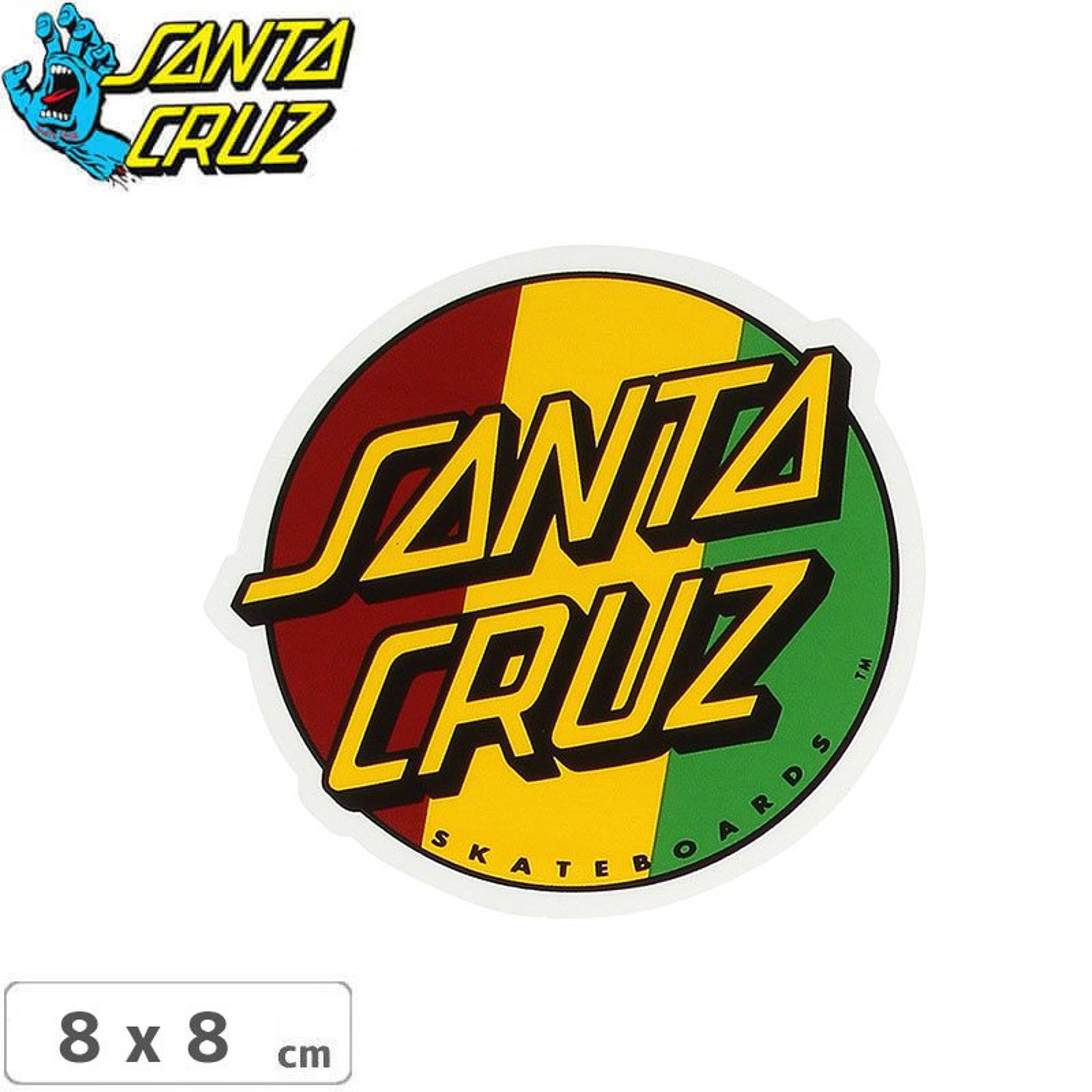 "Santa Cruz MFG Dot Skateboard Sticker 3/"""