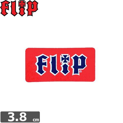 【FLIP フリップ ステッカー】LOGO【1.8cm×3.8cm】NO13