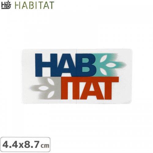 【HABITAT STICKER ハビタット ステッカー】LOGO【4.4cm×8.7cm】NO14