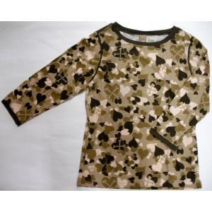 【ステューシー STUSSY レディース】ロング Tシャツ【ブラウン】NO12