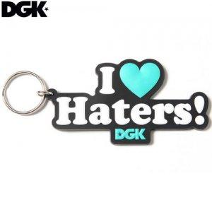 【DGK ディージーケー キーホルダー】DGK HATERS KEYCHAIN【9cm x 5cm】NO03