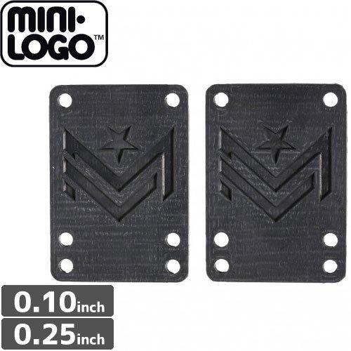 【MINI-LOGO ミニロゴ ライザーパッド】HARD RISERS【0.1】【0.25】NO1