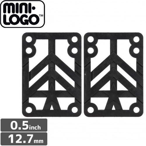 【MINI-LOGO ミニロゴ ライザーパッド】HARD RISERS【0.5インチ】NO2