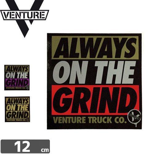 【ベンチャー VENTURE ステッカー】ALWAYS ON THE GRIND【3色】【11.8cm × 12cm】NO12