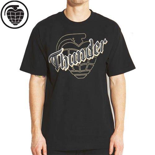 SALE! 【サンダー THUNDER スケボー Tシャツ】SHINER TEE【ブラック】NO27