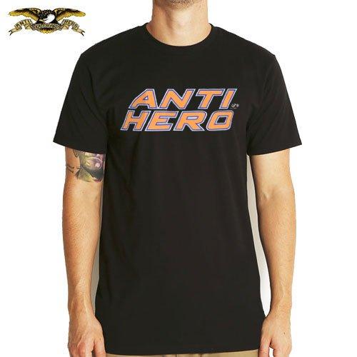 【アンチヒーロー ANTIHERO スケボーTシャツ】PLUS HERO TEE【ブラック】NO54