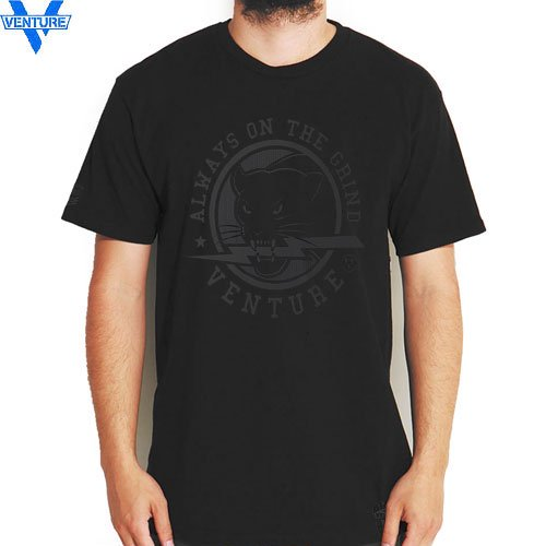 【ベンチャー VENTURE TRUCKS Tシャツ】STEVIE WILLIAMS BLACK OPS【ブラック】NO10