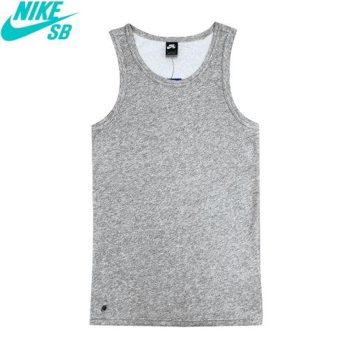 【NIKE SB ナイキ エスビー T-shirt Tシャツ】Dri-Fit Tank Top【グレー】No012