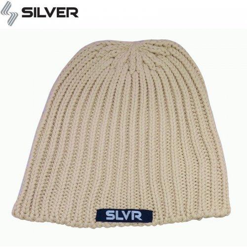1週間SALE!【 シルバートラック SILVER TRUCKS スケボー ニットキャップ】Beanie【クリーム】NO01