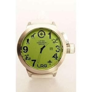 【エルアールジー LRG 時計】ICON WATCH【ホワイト】NO01
