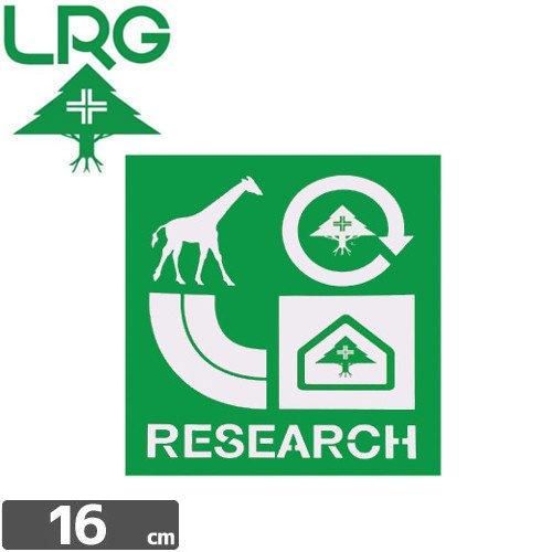 【エルアールジー LRG ステッカー】RESEARCH STICKER【16cm x 15cm】NO14