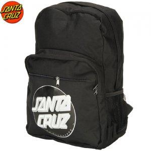 【SANTA CRUZ サンタクルーズ スケボー バックパック】Other Dot Back Pack【ブラック】NO06
