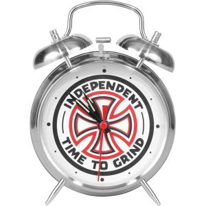 【インディペンデント INDEPENDENT 電池不要巻き上げ式 時計】 Alarm Clock-Chrome No01