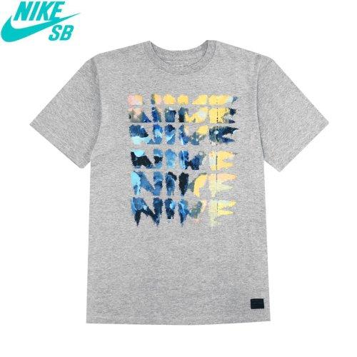 USAモデル【NIKE SB ナイキ エスビー T-shirt Tシャツ】Creep T-shirt Harren【ダークグレーヘザー】No020