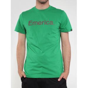 【エメリカ EMERICA スケボー Tシャツ】Pure 12【グリーン】NO95
