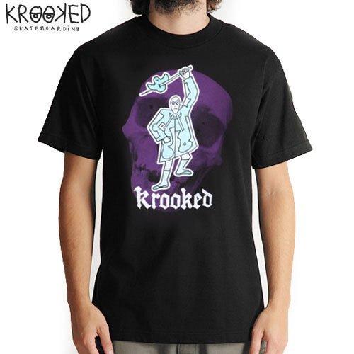 【KROOKED クルックド スケートボード Tシャツ】KILLA TEE【ブラック】NO57