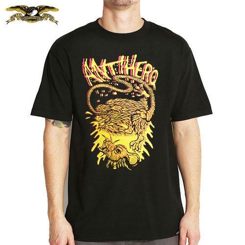 【アンチヒーロー ANTIHERO スケボーTシャツ】RAT TEE【ブラック】NO65