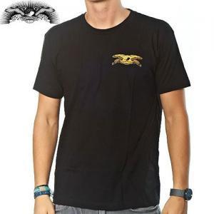 【アンタイヒーロー ANTIHERO スケボーTシャツ】STK EAGLE TWT T-shirt【ブラック】NO66