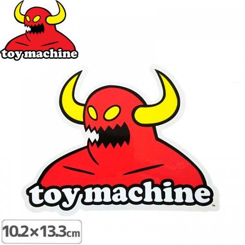 【トイマシーン TOY MACHINE スケボー ステッカー】MONSTER M【13.3cm x 10.2cm】NO29