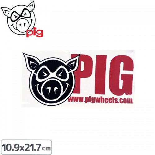 【PIG ピッグ STICKER ステッカー】RAMP STRIP【10.9cm x 21.7cm】NO12