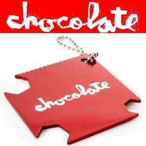 【CHOCOLATE チョコレート スケートツール】RED FLAT SKATEBOARD TOOL【レッド】NO1
