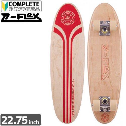 【ジーフレックス Z-FLEX コンプリート】MR CHIPPER RED LOGO[22インチ]【ウッド x レッド】NO13