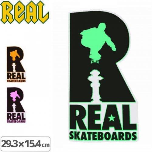 【リアル REAL SKATEBOARD スケボー ステッカー】HYDRANT【3色】【29.3cm x 15.4cm】NO34