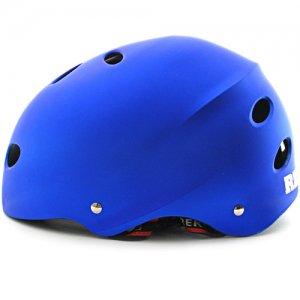 【リーコン REKON スケボー ヘルメット】PLAIN HELMET【ブルー】NO04