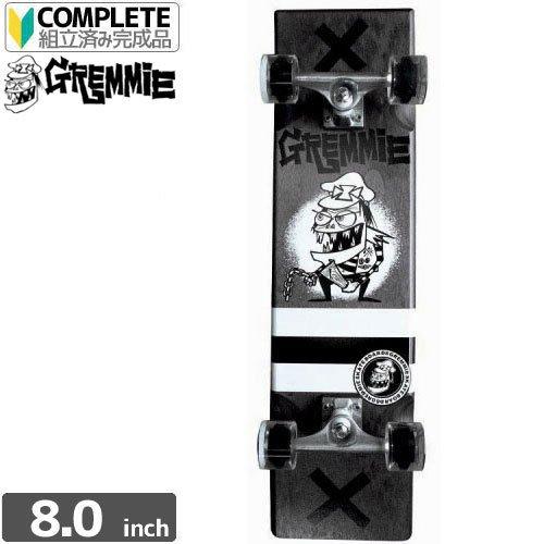 【グレミー GREMMIE スケボーコンプリート】Plank COMPLETE クルーザー【ブラック】[34インチ]NO2