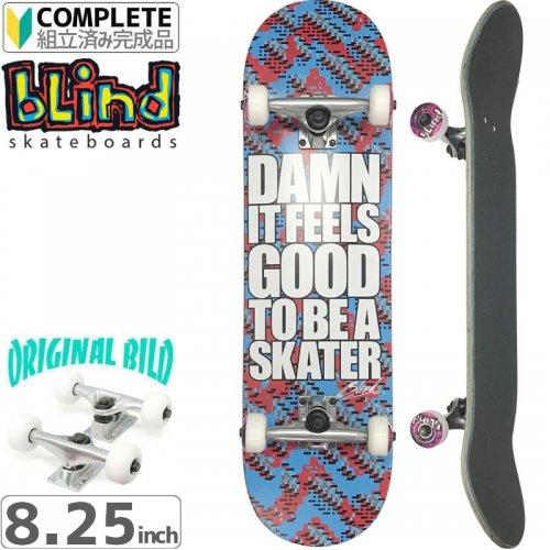 【ブラインド BLIND スケボー コンプリート】DAMN GLITCH SS【8.25】オリジナルビルド NO47
